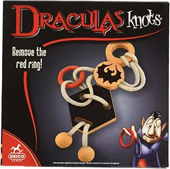 """Развивающая игра """" Узлы Дракулы"""", код 41963"""