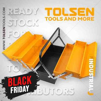 купить Ящик для инструментов металлический (404*200*195 мм) Tolsen в Кишинёве