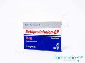 купить Metilprednisolon-BP comp. 16 mg  N20 (Balkan) в Кишинёве