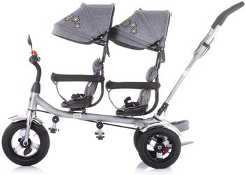 Детский велосипед Chipolino 2PLAY TRK2P0204GY Grey