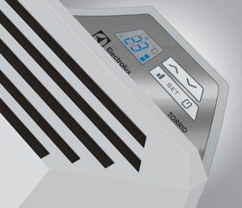 Конвектор Electrolux ECH/T 2000 E, 22-26м2, 2000Вт, Белый
