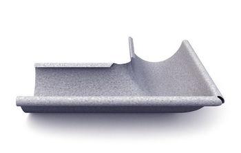 купить Угловой стык внешний 90º (125 mm) Al-zn в Кишинёве
