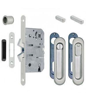 Комплект ручек для раздвижных дверей B029235012 бронза