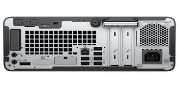 купить HP ProDesk 400 G6 SFF (lntel® Core® i3-8100, 8GB DDR4 RAM, 256GB SSD, DVDRW, Intel® HD 630 Graphics, VGA, DP, 180W PSU, USB MS&KB, Win 10 Pro, Black) в Кишинёве