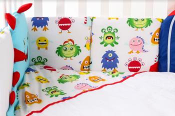 купить Veres Комплект для кроватки Pretty aliens в Кишинёве