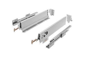 Modern Box gri L-500 H-83 deschidere totală cu amortizor