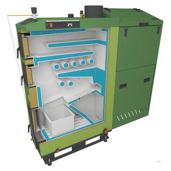 купить Твердотопливный котёл SAS ECO 58 кВт в Кишинёве