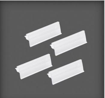 купить Держатель для ярлыков (4 штук) 102x16xx33 мм в Кишинёве