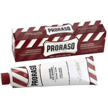 КРЕМ ДЛЯ БРИТЬЯ PRORASO RED SHAVING CREAM 150ML