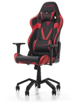Gaming Chairs DXRacer - Valkyrie GC-V03-NR-B2, Black/Red/Black - PU leather, Gamer weight up to 115kg/growth 165-195cm, Foam Density 50kg/m3, 5-star  Aluminium Spider, Gas Lift 4 Class, Recline 90*-135*, Armrests:4D, Pillow-2, Caster-3*PU, W-21kg