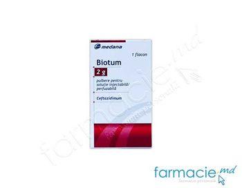 купить Biotum pulb./sol. inj. 2 g N1 в Кишинёве