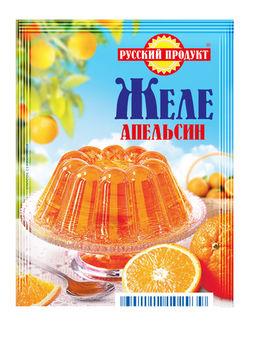 Желе быстрого приготовления со вкусом Апельсина 50г