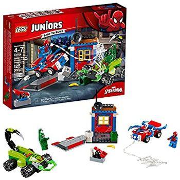 "LEGO Juniors ""Решающий бой Человека-паука против Скорпиона"", арт. 10754"