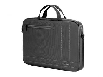 "Continent NB bag 15.6"" - CC-201 GA, Grey/Grey, Top Loading"