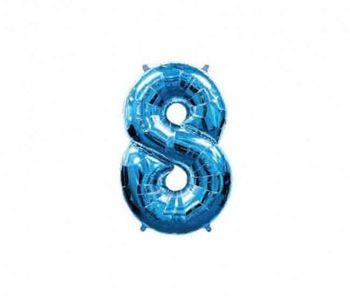 Цифра 8 Синий 40 / 102 см