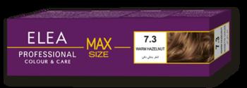 Vopsea p/u păr, SOLVEX Elea Max, 100 ml., 7.3 - Alună