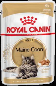 купить Royal Canin MAINE COON ADULT (В СОУСЕ) 85 gr в Кишинёве