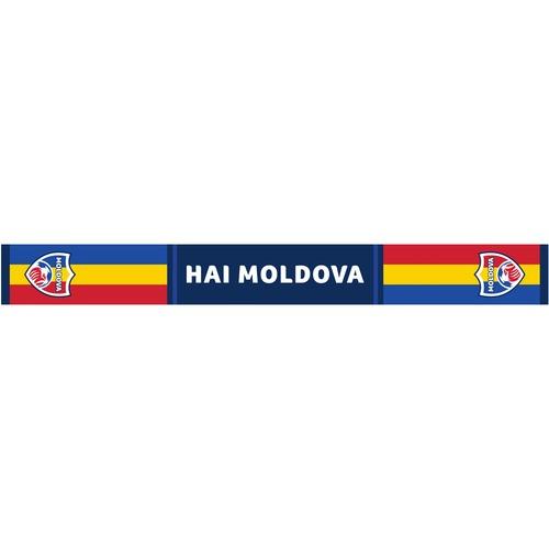 """cumpără Fular """"Hai Moldova"""" - Tricolor (Vară) în Chișinău"""