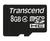 8GB MicroSDHC Class 4 Transcend TS8GUSDC4