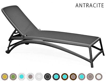 Sezlong Nardi ATLANTICO ANTRACITE-antracite 40450.02.057