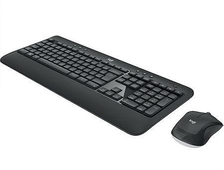 Logitech MK540 Black Advanced Wireless Mouse + Keyboard Bundle, 2.4 GHz RF, USB, 920-008686 (set fara fir tastatura+mouse/беспроводной комплект клавиатура+мышь)