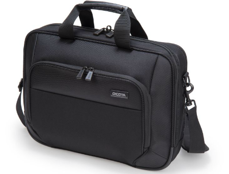 """Dicota D30828 Top Traveller ECO 15""""-17.3"""", Eco-friendly bag with protection and convenience, Black (geanta laptop/сумка для ноутбука)"""