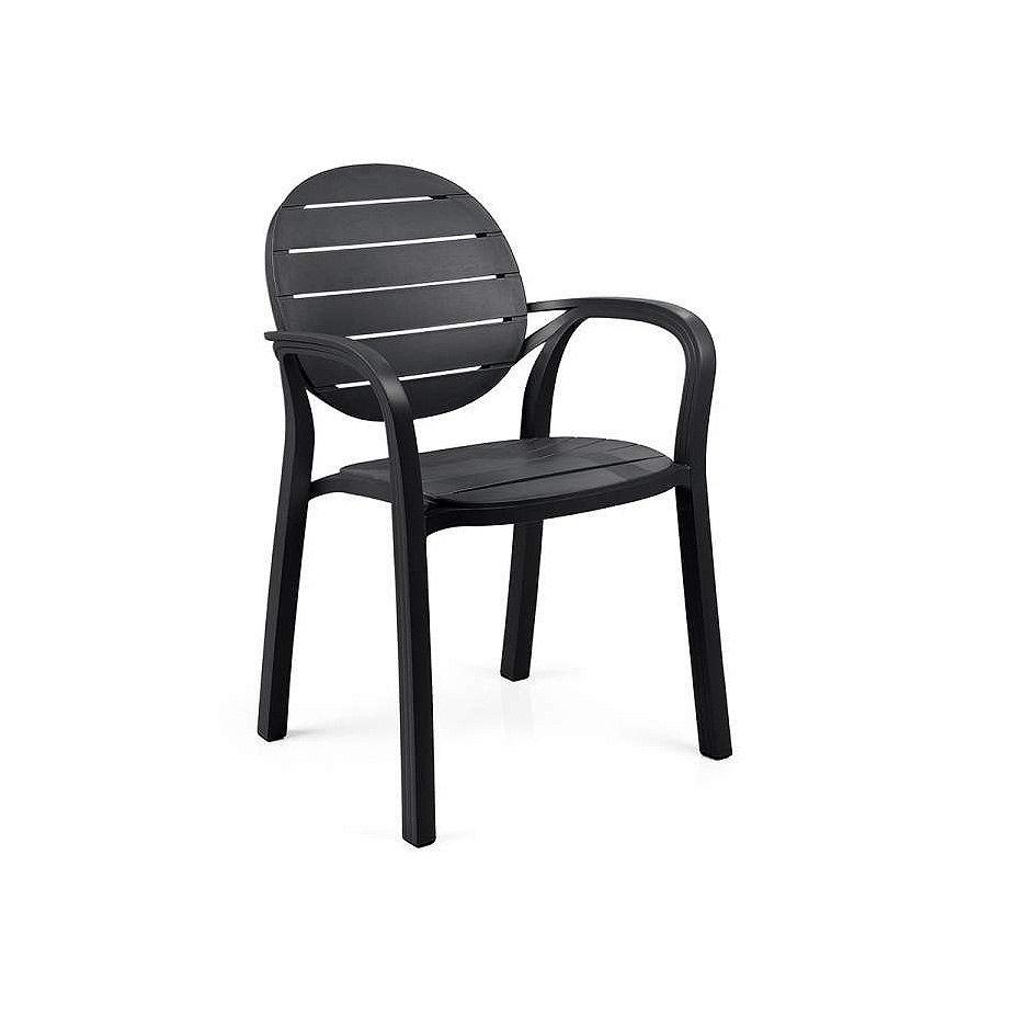 Кресло Nardi PALMA ANTRACITE-ANTRACITE 40237.02.002 (Кресло для сада и террасы)