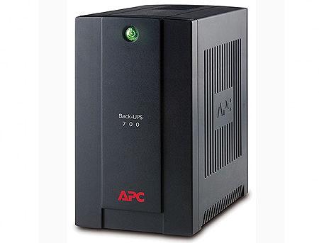 UPS APC Back-UPS BX700UI, AVR, 700VA/390Watts, 230V, 50 Hz, Line Interactive, 4 IEC 320 C13 sockets