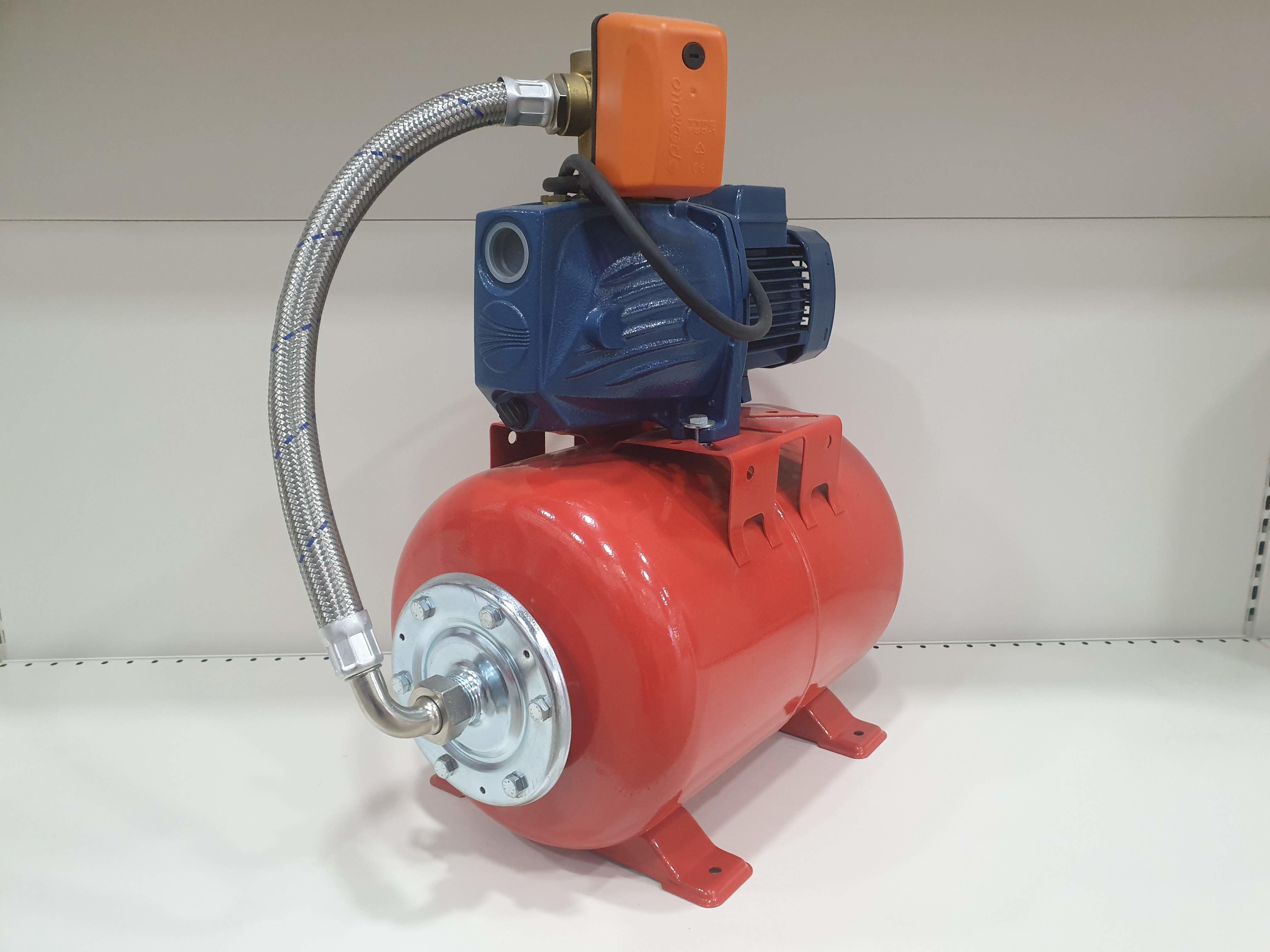 Гидрофор PEDROLLO JSWm/1AX-24CL 0.6кВт 9м