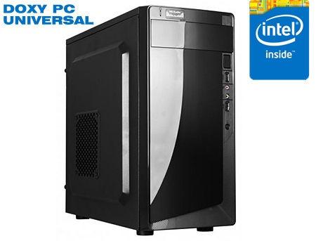 Computer DOXY PC UNIVERSAL - CPU Intel Pentium Dual Core G4560 3.5GHz / 8GB DDR4/120GB SSD/ 320GB HDD/ Case ATX 500W