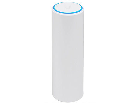 Ubiquiti UniFi UAP-FLEXHD, 802.11ac Wave 2 Enterprise Wi-Fi Access Point Indoor/Outdoor, Dual Band 4x4 MU-MIMO Technology with 1.733 Gbps Throughput, Managed, 802.3af, 48V 0.32A Gigabit PoE Adapter, Security WEP,WPA-PSK,WPA-Enterprise (WPA/WPA2,TKIP/AES)