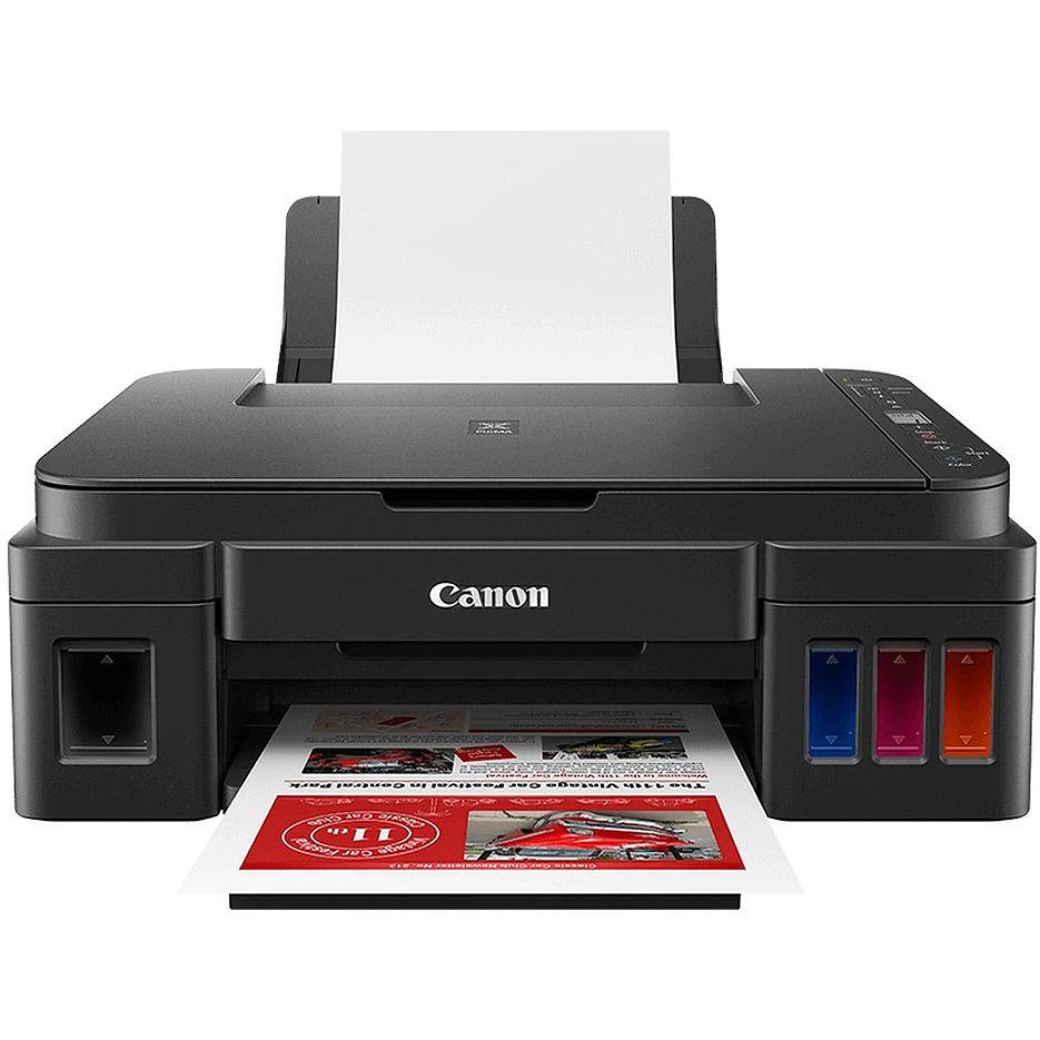 Multifunctional inkjet MFD CISS Canon Pixma G3411, Color Printer/Scanner/Copier/Wi-Fi, A4, Print 4800x1200dpi_2pl, Scan 600x1200dpi, ESAT 12.2/8.7 ipm,64-275ã/ì2, LCD display_6.2cm,USB 2.0, 4 ink tanks: GI-490BK,GI-490C,GI-490M,GI-490Y