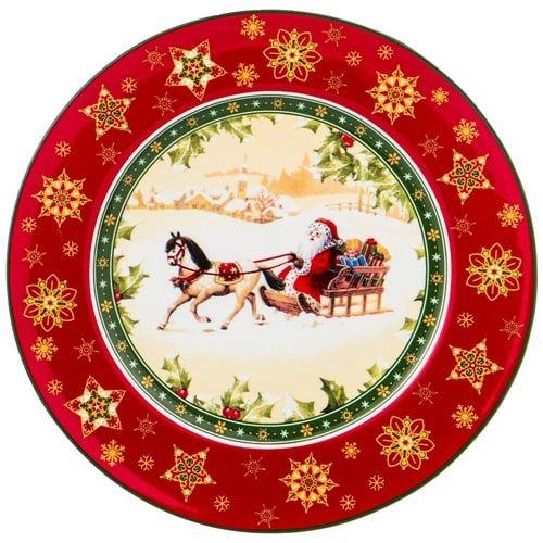 Рождественские предметы сервировки
