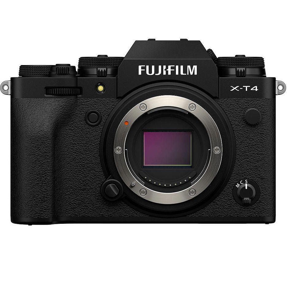 Fujifilm X-T4 black body, Mirrorless Digital Camera Fujifilm X System (Aparat fotografic)