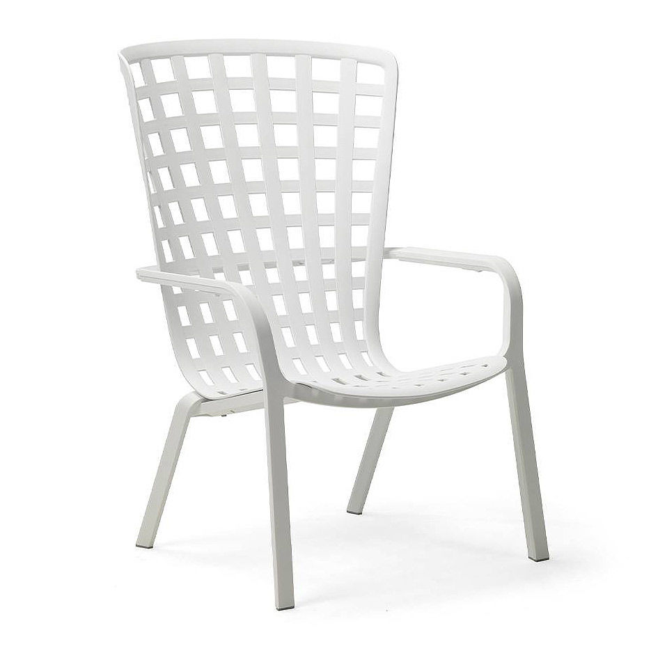 Лаунж-кресло Nardi FOLIO BIANCO 40300.00.000.04 (Лаунж-кресло для сада и террасы)