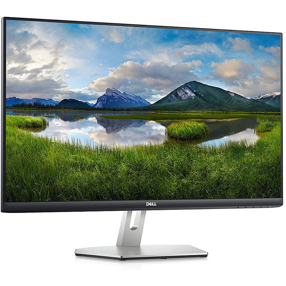 "Монитор 27.0"" DELL IPS LED S2721HN BorderIess Black/Silver (4ms, 1000:1, 300cd, 1920x1080, 178°/178°, HDMIx2 , Audio line-out, VESA )"