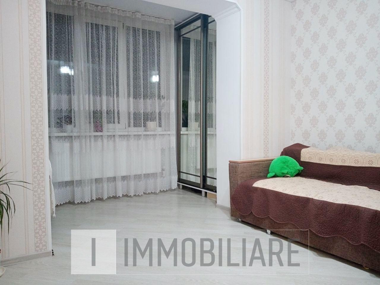 Apartament cu 2 camere+living, sect. Durlești, str. Păcii.