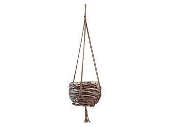 Капшо для цветов подвесные и плетеные корзины