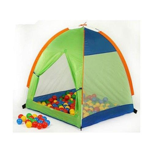 Палатки, шарики