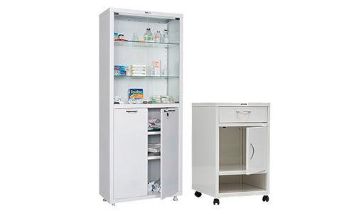 Медицинская металлическая мебель