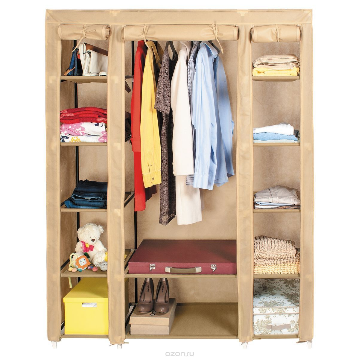 "Шкаф для одежды artmoon ""montreal"", цвет: бежевый,."