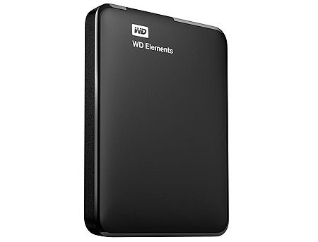 "2.5"" 1TB External HDD WD Elements Portable WDBUZG0010BBK-WESN, Black, USB 3.0, (hard disk extern HDD/внешний жесткий диск HDD)"
