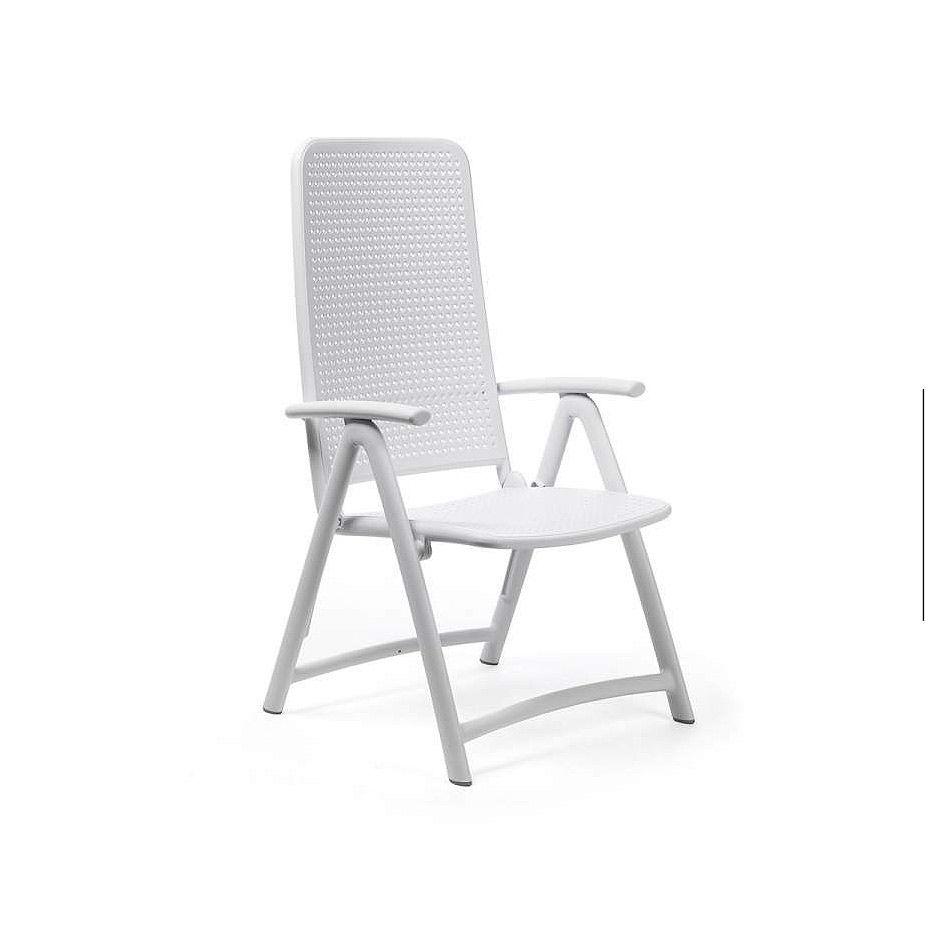 Кресло складное Nardi DARSENA BIANCO 40316.00.000 (Кресло складное для сада и террасы)