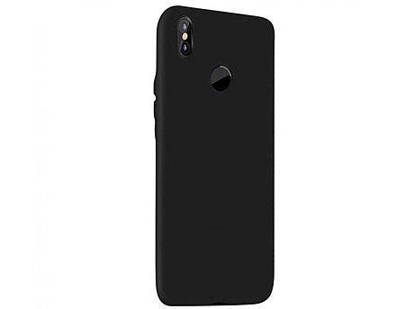 720012 Husa Screen Geeks Touch Xiaomi Redmi Note 5 Pro TPU, Black (чехол накладка в асортименте для смартфонов Xiaomi, силикон)