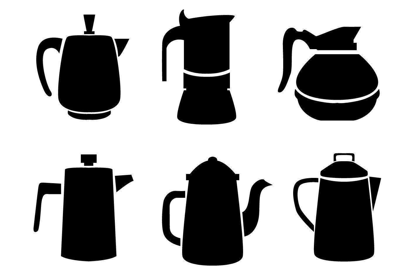 Чайники, кофейники, турки