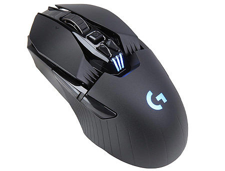 Logitech G903 Lightspeed Wireless Gaming Mouse, RGB Lighting, Buttons: 7-11, Resolution:200–12,000 dpi, Connection: Wired/Wireless, 910-005084 (mouse/мышь)