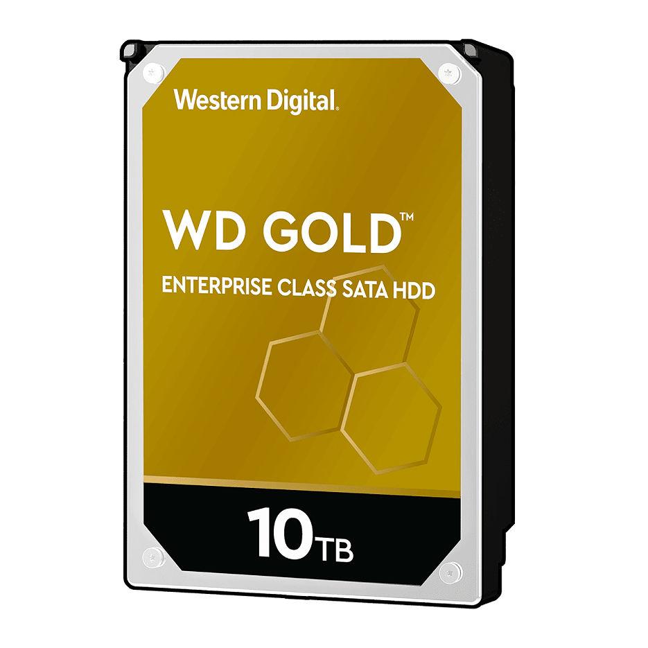 "3.5"" HDD 10TB Western Digital Gold (Enterprise Class) WD102KRYZ, 7200 RPM, SATA3 6GB/s, 256MB (hard disk intern HDD/внутренний жесткий диск HDD)"