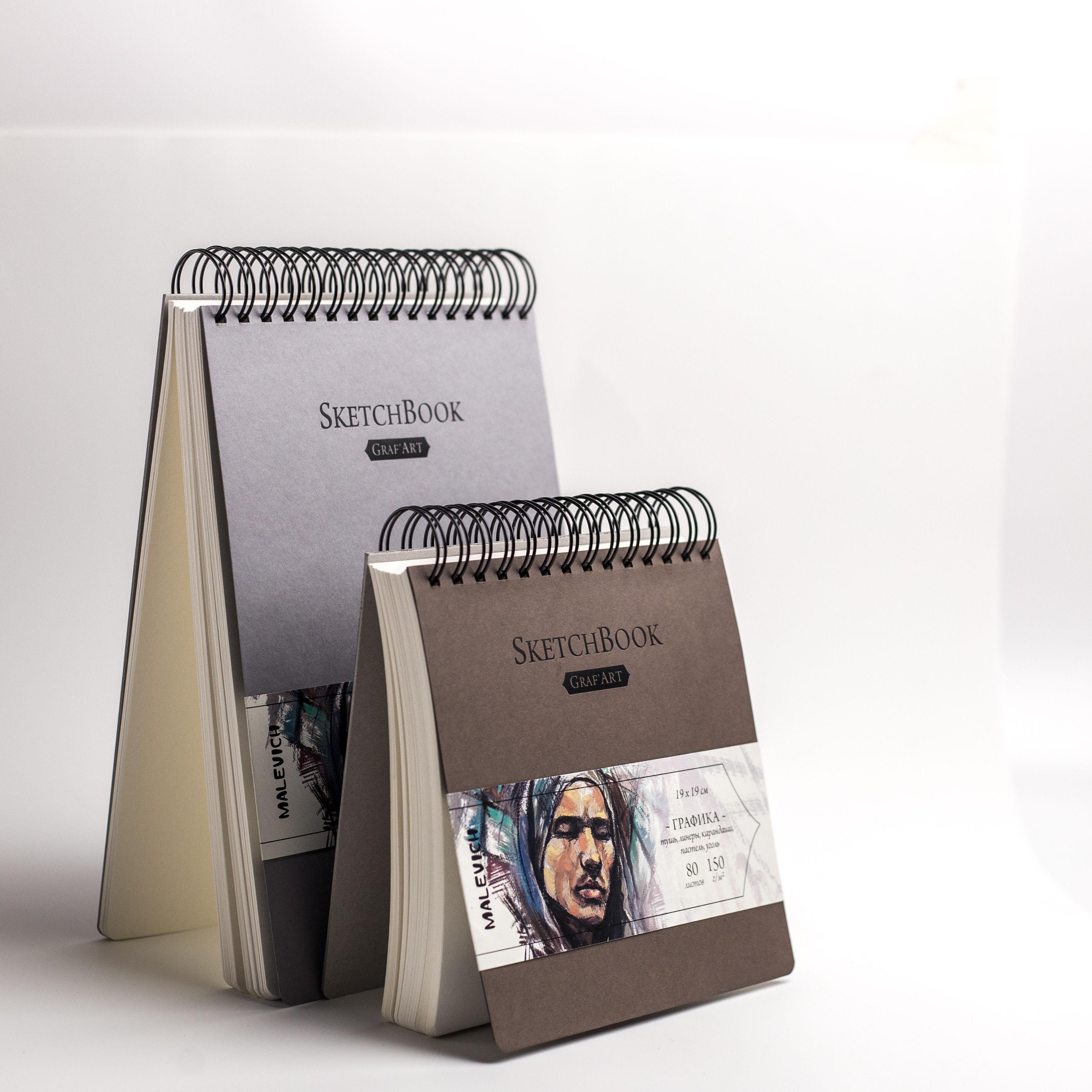 Sketchbook  для каллиграфии, маркеров, пастели