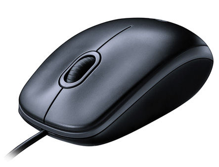 Logitech M90 Optical Mouse Dark, USB, 910-001794 (mouse/мышь)