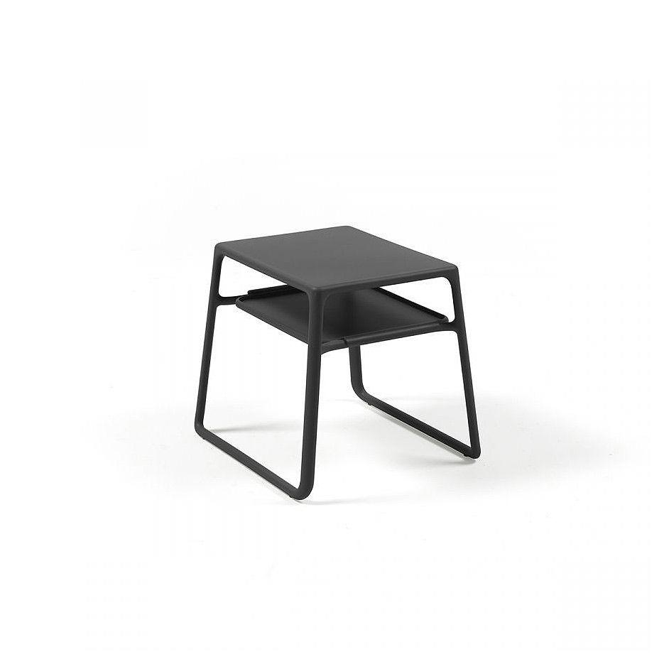 Столик Nardi POP ANTRACITE 40048.02.000 (Столик для сада лежака террасы балкон)
